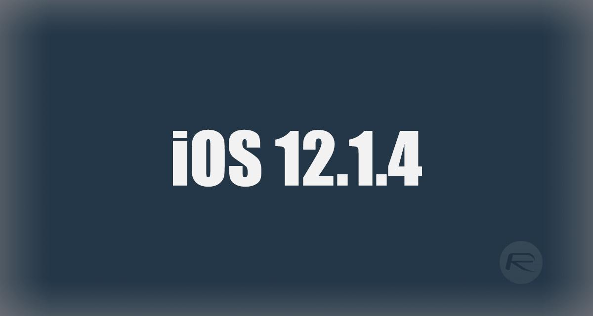 Downgrade iOS 12 1 4 To iOS 12 1 1 Beta 3 For Jailbreak [Guide