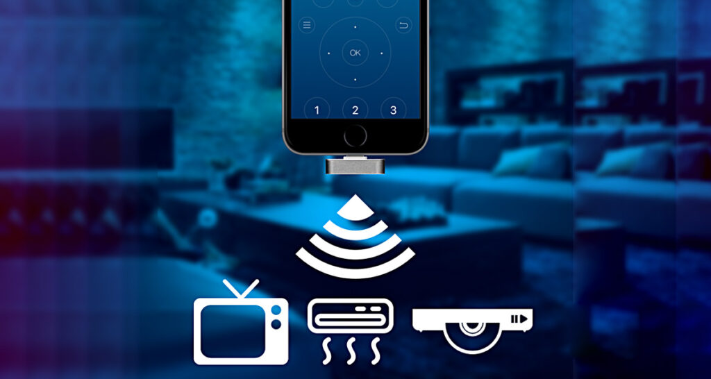 Lightning Based Smart Ir Blaster For Iphone Running Ios 12