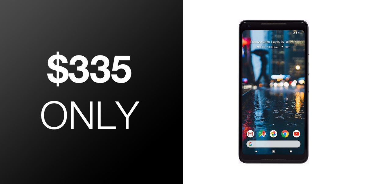 Hot Deal: 64GB Google Pixel 2 XL, Fully Unlocked For Just