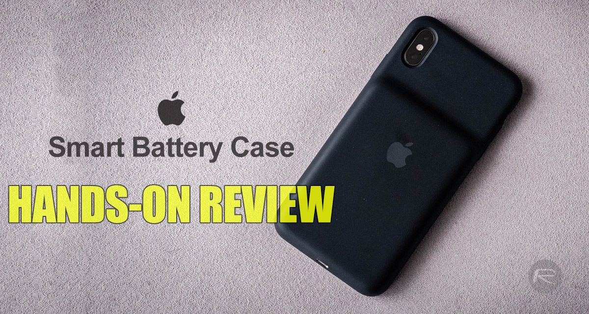 separation shoes b351c 7735b Apple Smart Battery Case For iPhone XS Max Review [Video] | Redmond Pie