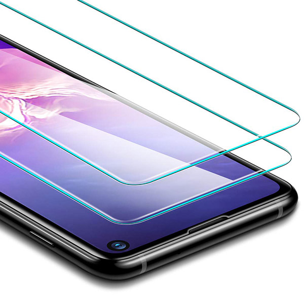ad20b0070bc Galaxy S10 / S10+ / S10e Screen Protector With Tempered Glass: Here ...