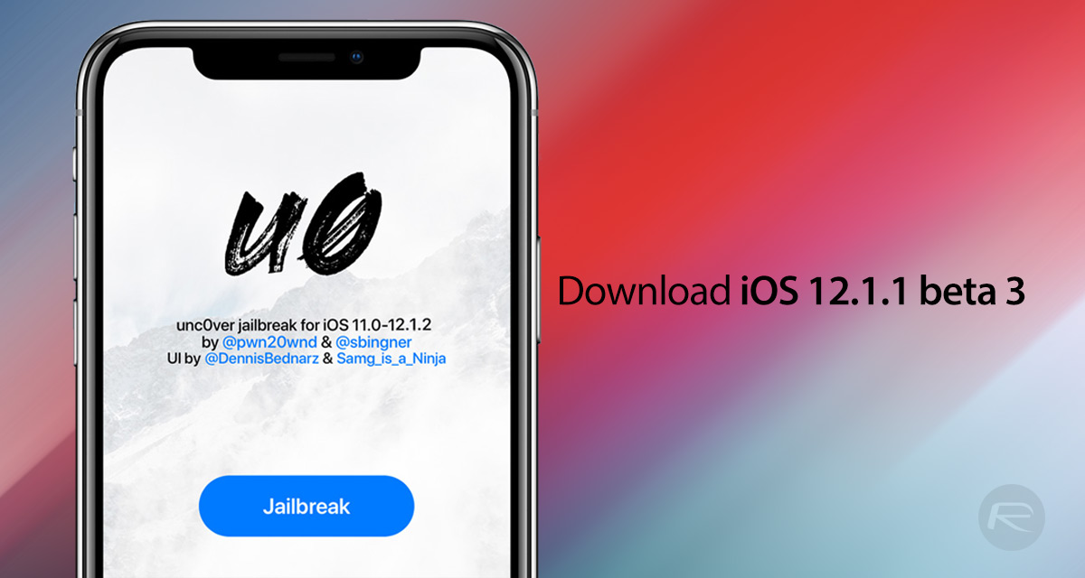 Download iOS 12 1 1 Beta 3 IPSW Links For iPhone X, XS, XR