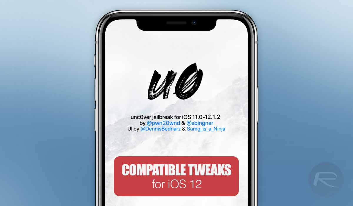iOS 12 / 12 1 2 Compatible Jailbreak Tweaks For Unc0ver
