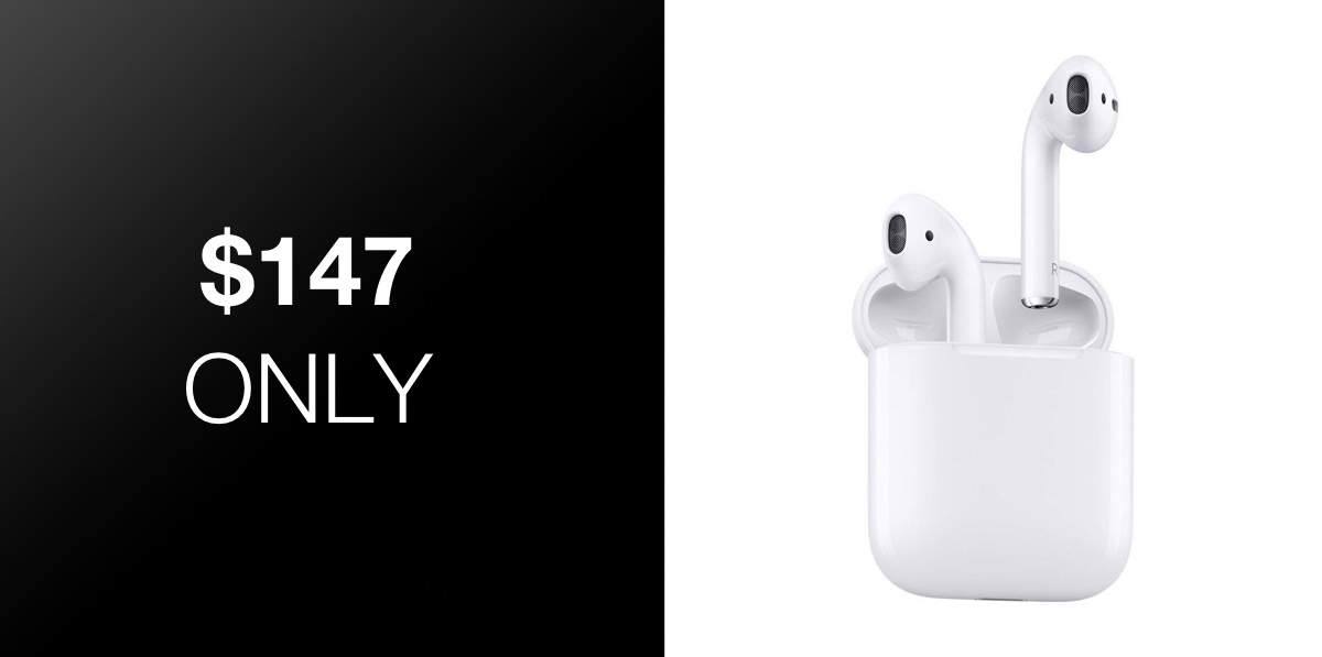 First-Gen AirPods Drop To Just $147, An Excellent Deal For
