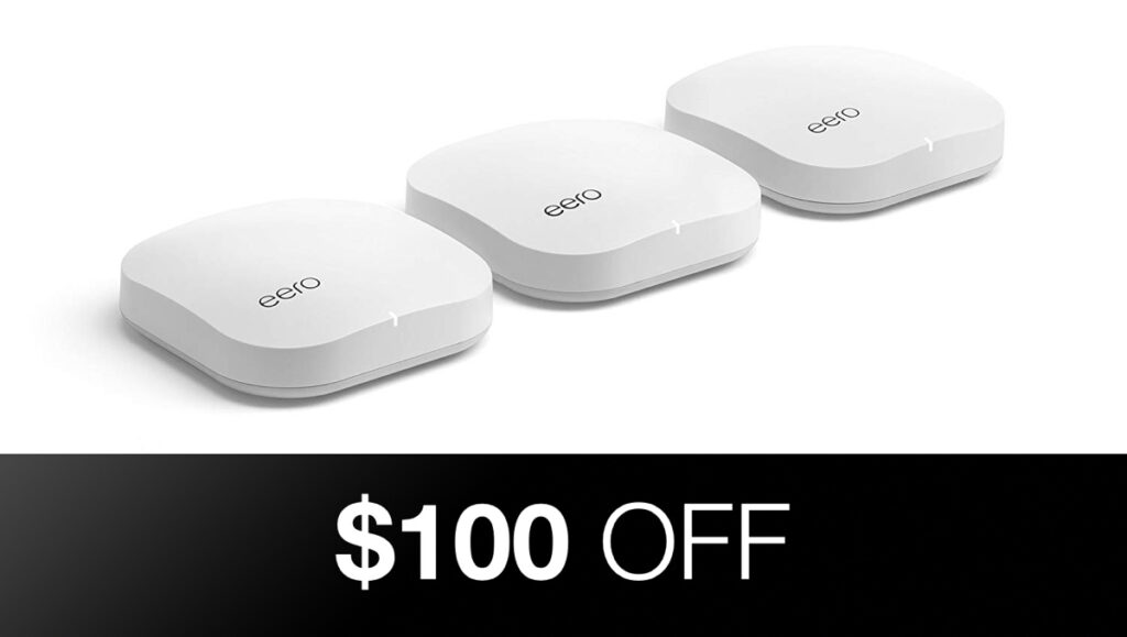 Eero Mesh Wifi System Discounted By 100 Today Multiple