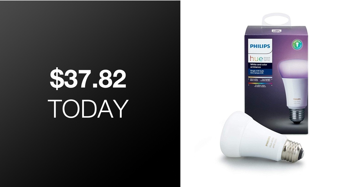 Philips Hue Single Premium Rgb Smart Bulb With Homekit