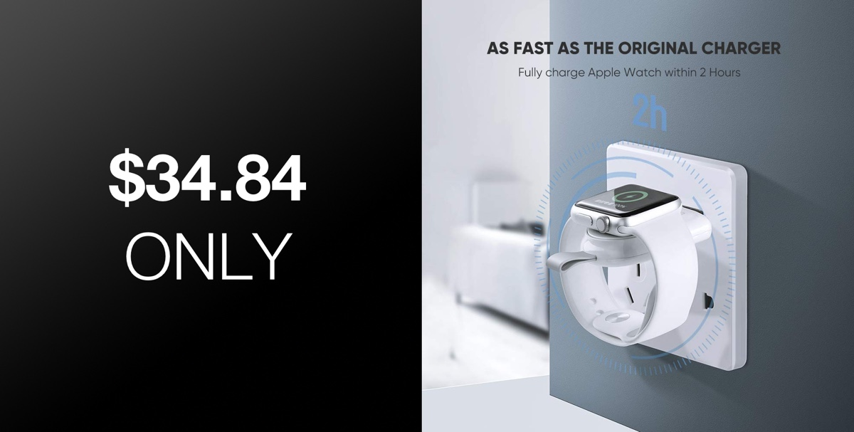 This MFi Certified Apple Watch Charger Is Ridiculously Small