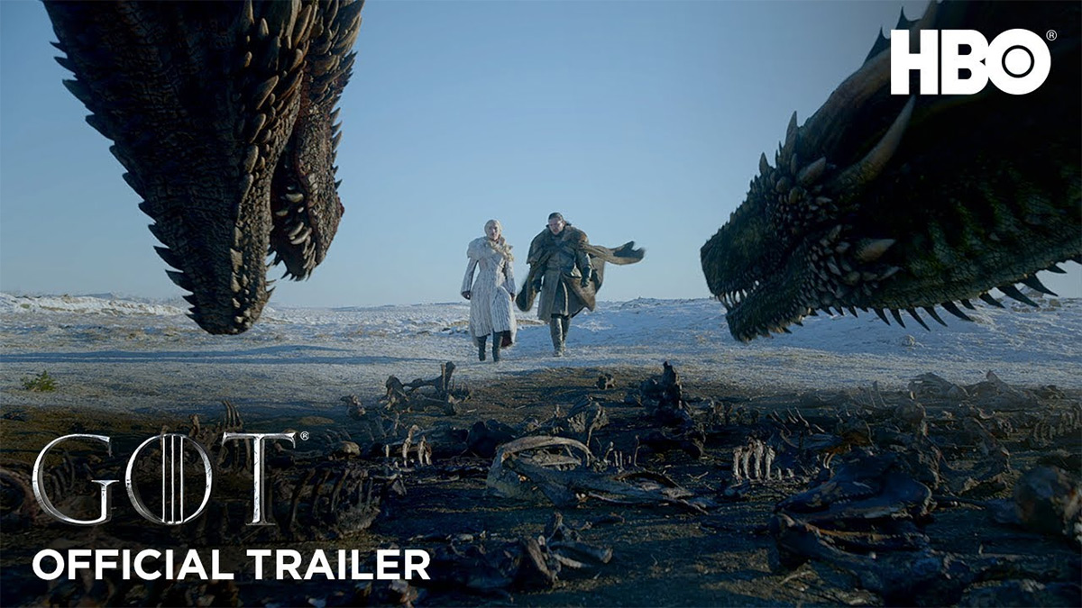 Game Of Thrones Season 8 Trailer Brings Dragons To Winterfell