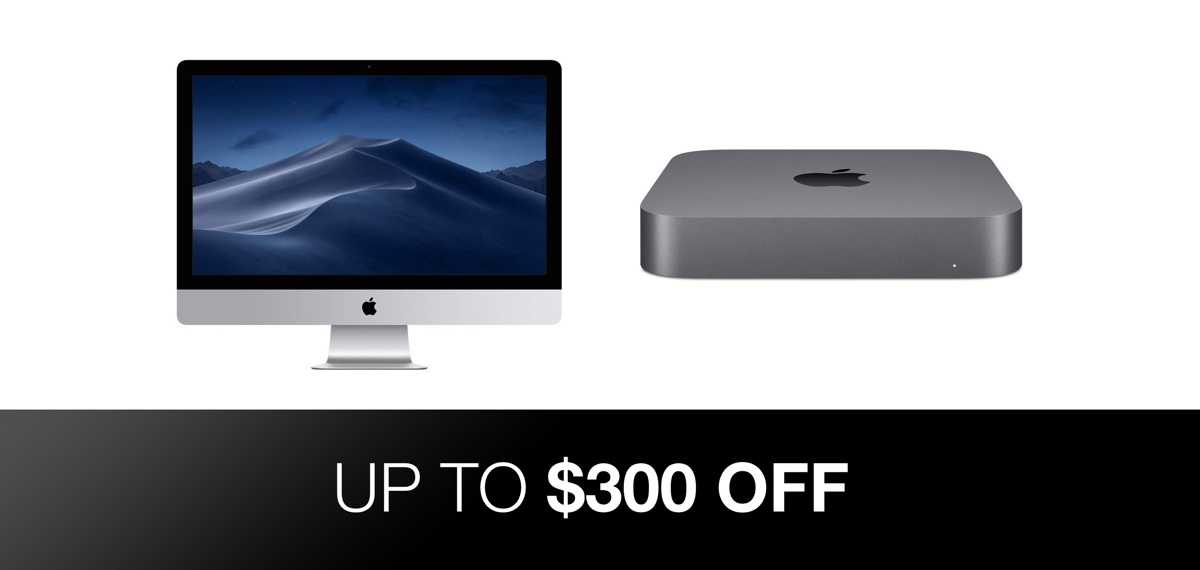 Previous Generation iMac And Latest Mac mini Up To $300 Off