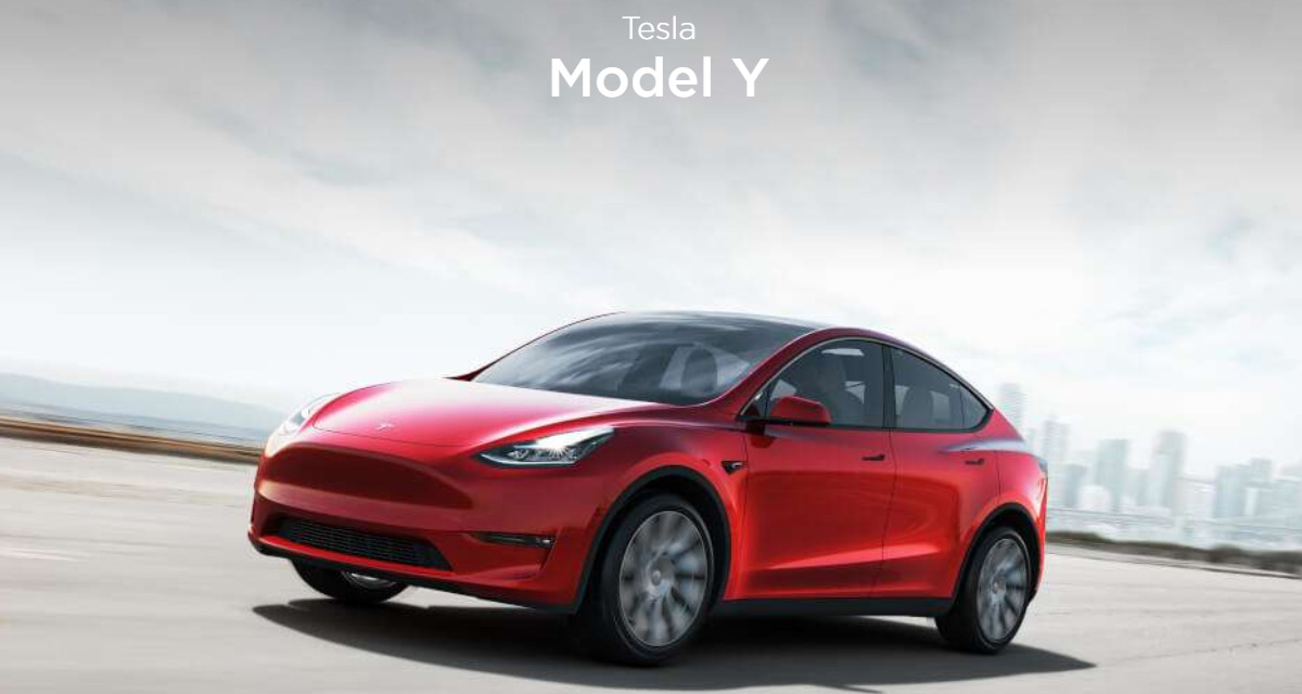 Seven-seat Tesla Model Y revealed with 300-mile range