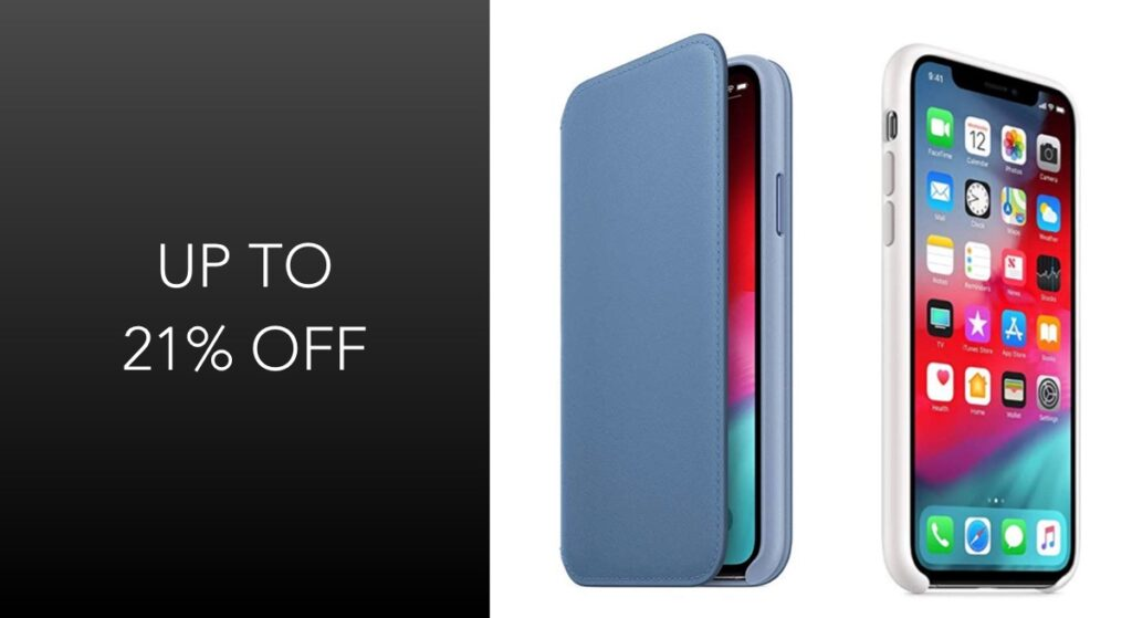 Apple Offering Official iPhone Xs Silicone And Leather Folio Cases