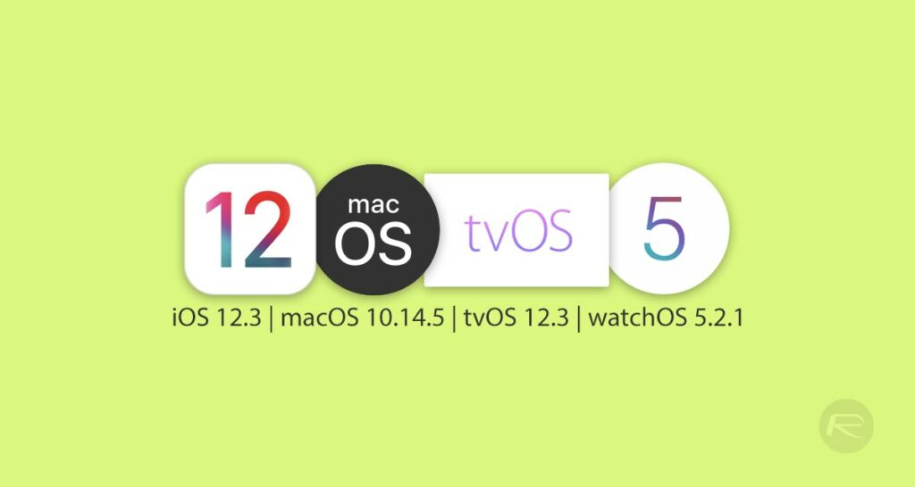 iOS 12 3 Beta 2 Download Alongside Beta 2 Of macOS 10 14 5, tvOS