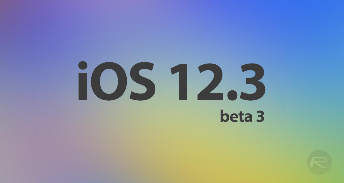 ios 12 beta 3 download link