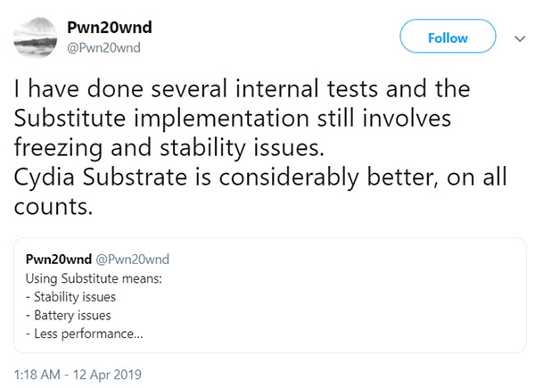 Cydia Substrate For Unc0ver iOS 12 Jailbreak On A12 / A12X Devices