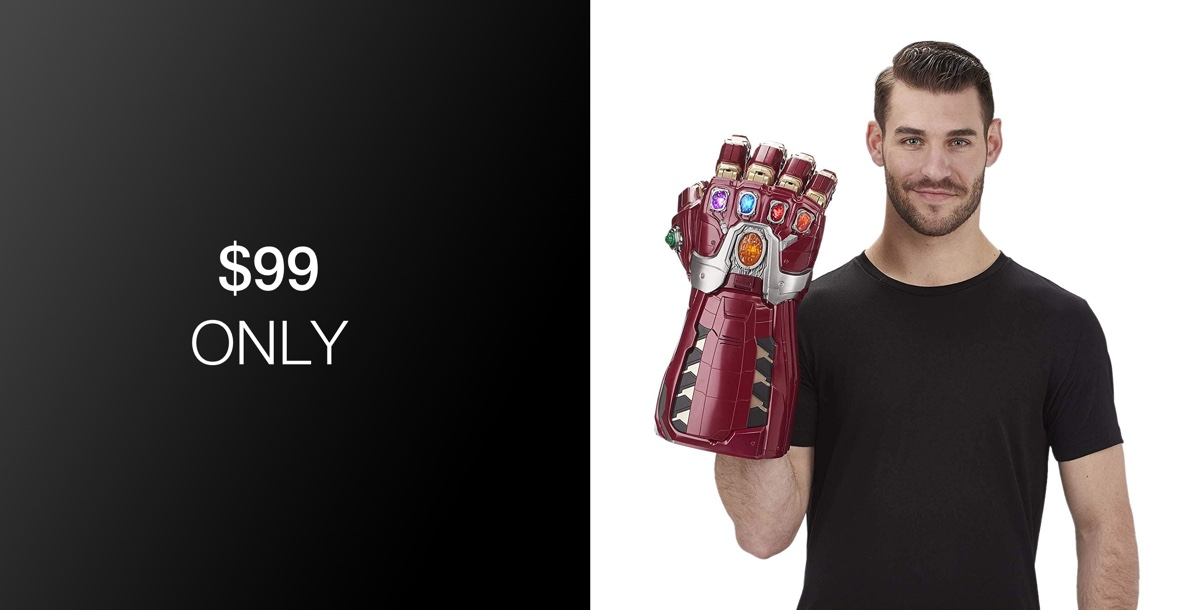 Relive The Avengers: Endgame Hype With The Power Gauntlet For Just