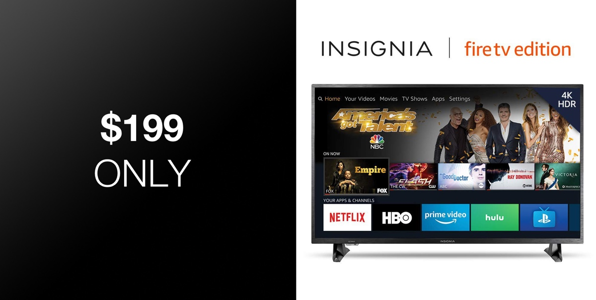 Memorial Day Deal: Insignia 43-Inch 4K UHD Fire TV Edition