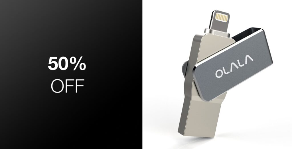 Deal Alert: iPhone And iPad Flash Drives In Multiple Capacities And