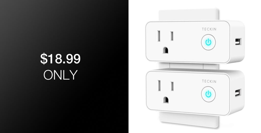 3bfe081a49a2 Deal Alert: 2-Pack Of WiFi Smart Plugs With Built-In USB Port For ...