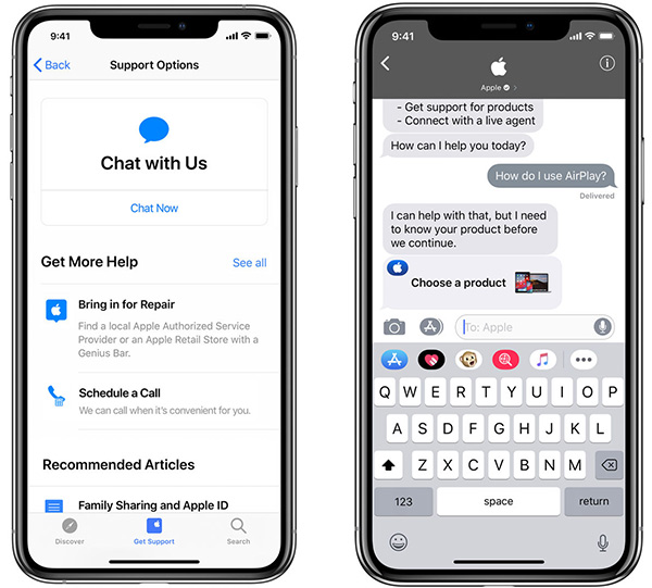 Apple Support App Users Can Now Chat With Experts Through ...