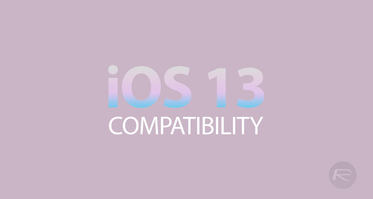 iOS 13, iPadOS Compatibility For iPhone, iPad, iPod touch