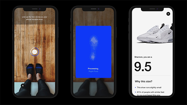 Nike App's AR Feature On iPhone Finds The Right Size Sneaker
