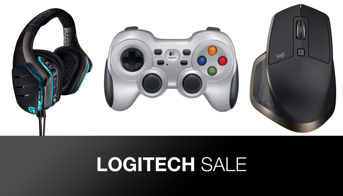 Logitech's One-Day Sale Heavily Discounts Gaming Accessories