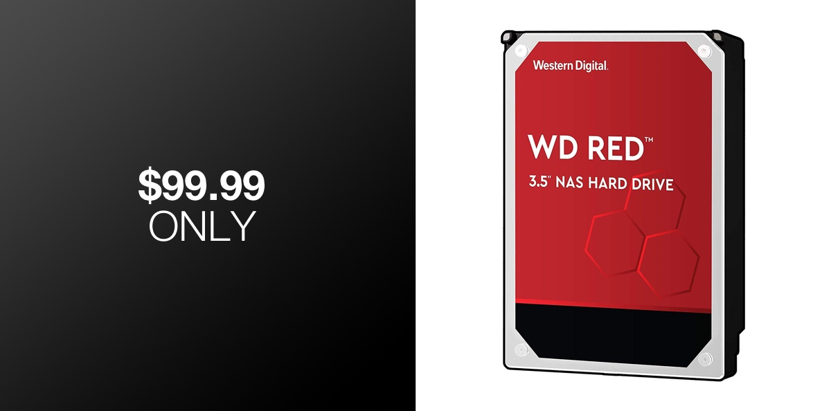 Western Digital Red 4TB NAS Drive Is A Crazy Good Deal At