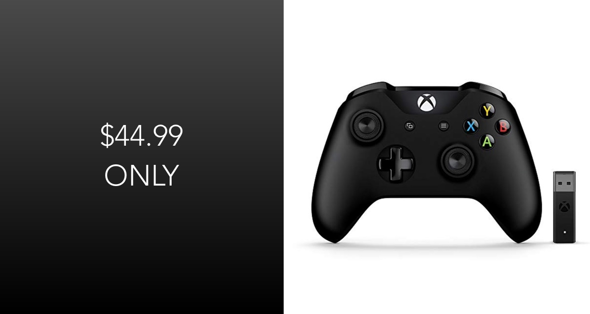 Hot Deal: Xbox Controller + Wireless Adapter For Windows For