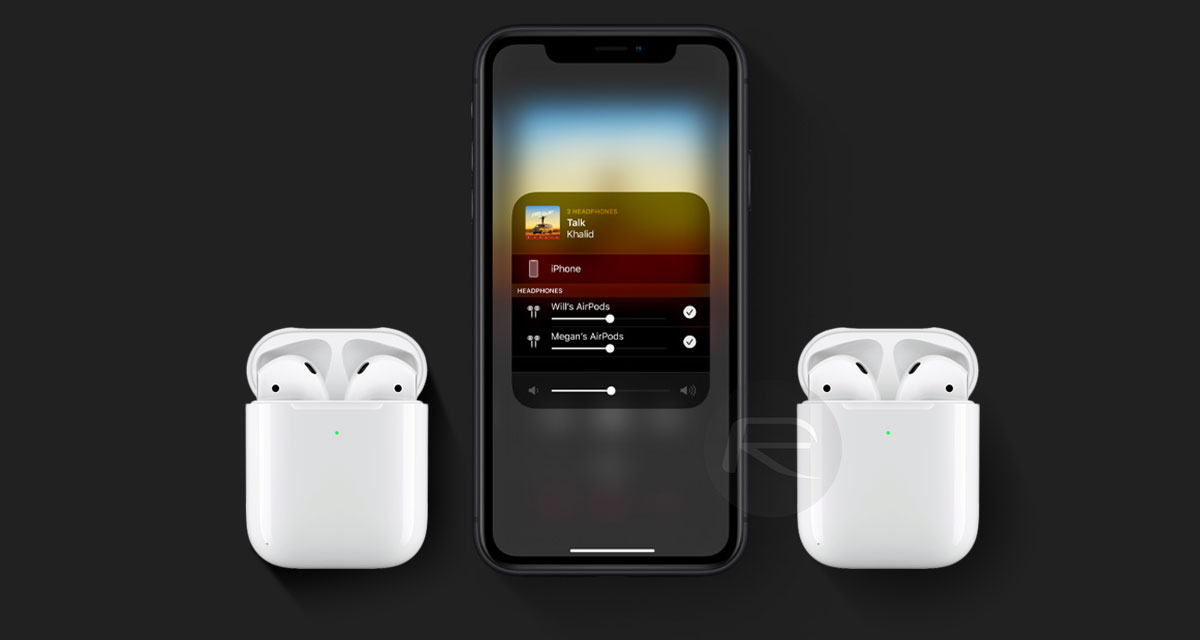Ios 13 Connect Or Share 2 Airpods Simultaneously On Iphone Or Ipad Here S How Redmond Pie