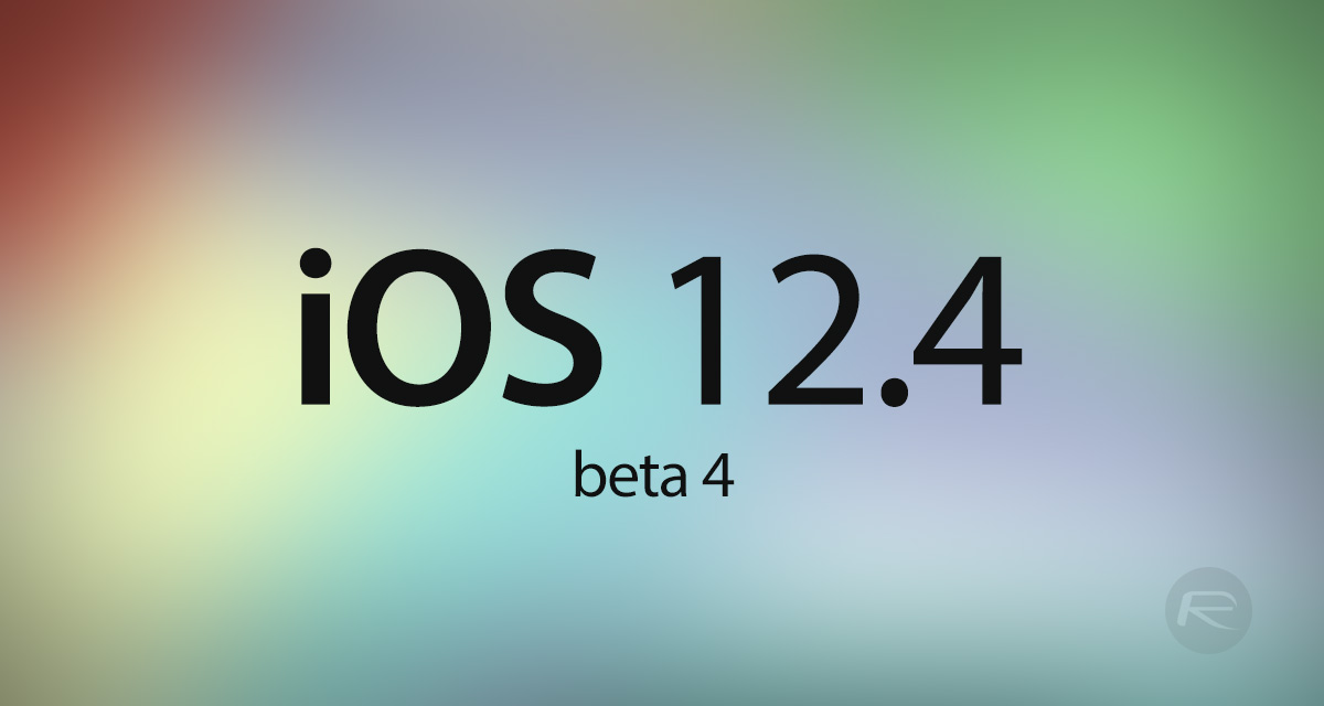 Download: iOS 12 4 Beta 4 IPSW Links, OTA Update Released | Redmond Pie