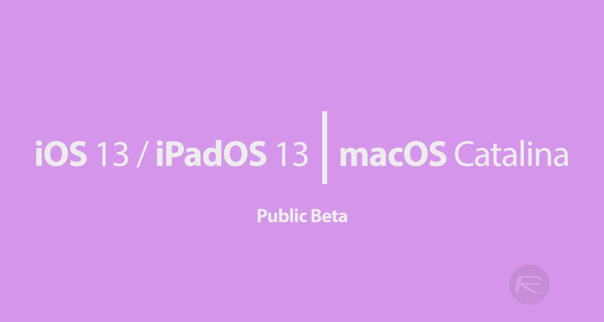 iOS 13 Public Beta 1 Profile Download Along With iPadOS 13, tvOS 13