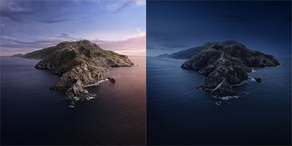 Download Macos Catalina Light Dark Dynamic Wallpaper From