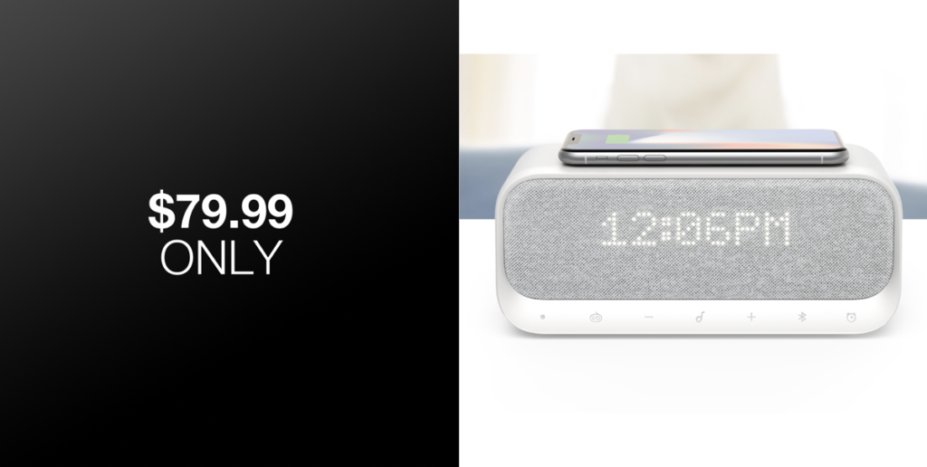 Soundcore Wakey Is A Bedside Clock Fm Radio Bluetooth