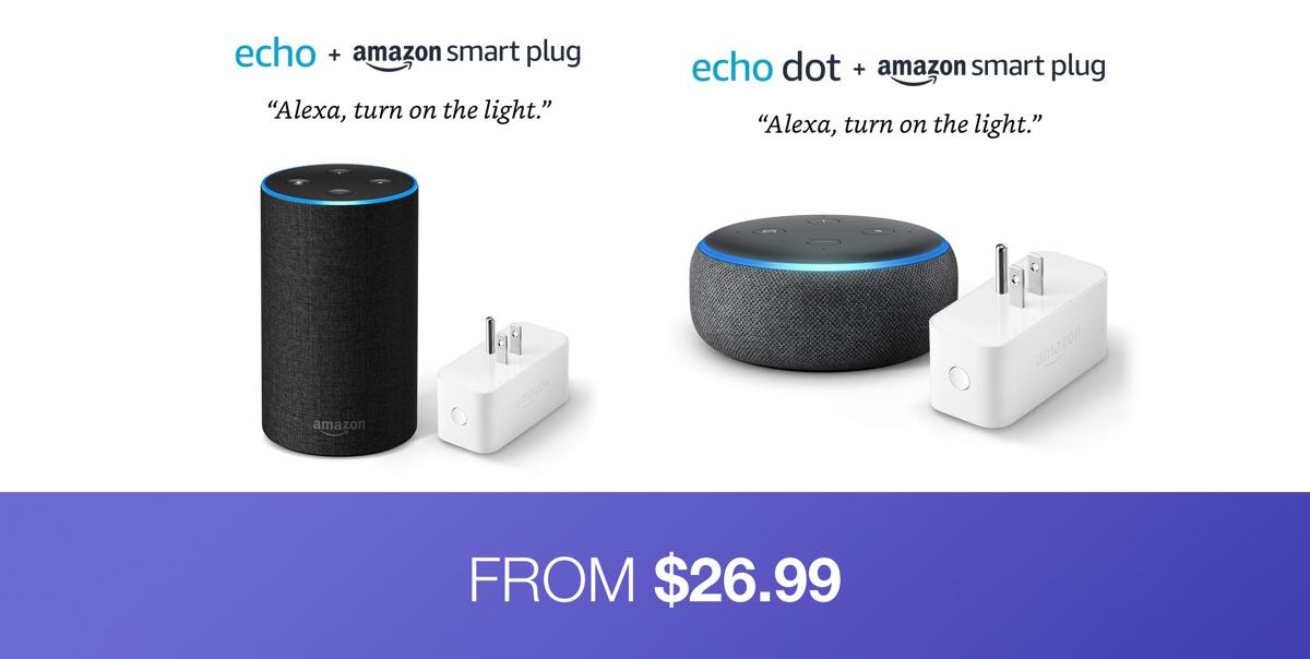 Hot Prime Day Deal: Echo Dot + Smart Plug Bundle For $26 99