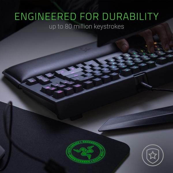Razer BlackWidow TE Chroma V2 Keyboard With RGB Lighting Drops To A