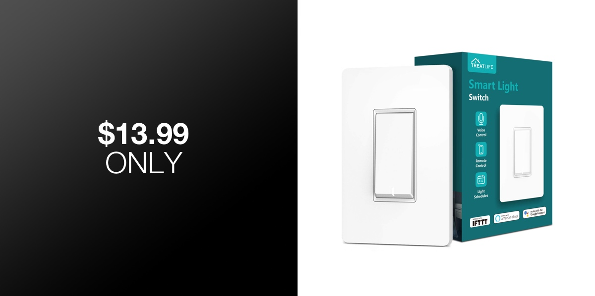 4th Of July Deal: Add A Smart WiFi Light Switch To Your Home ... Additional Light Switch Without Wiring on