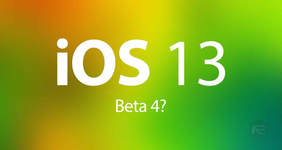 iOS 13 Beta 4 / Public Beta 2 Download Expected Release Date