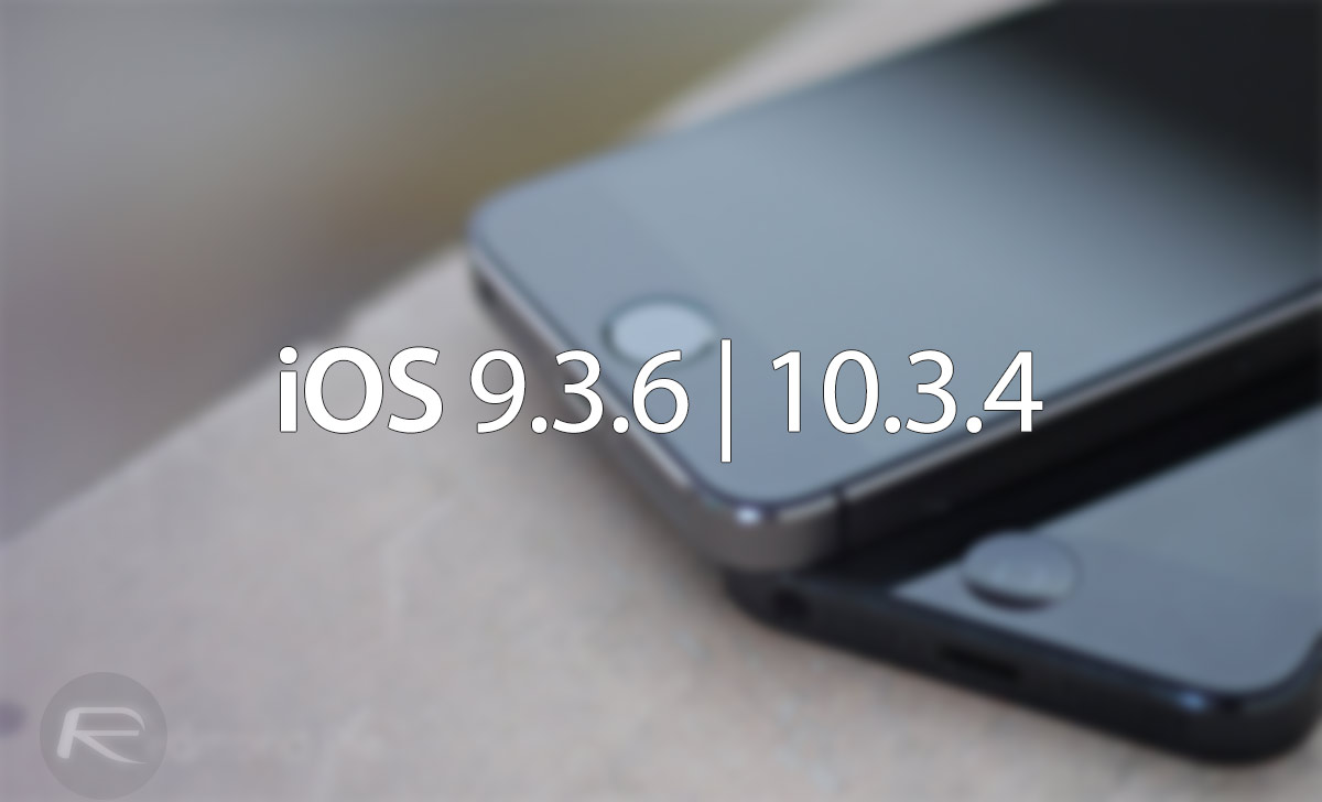 Download iOS 9 3 6, iOS 10 3 4 IPSW Links And OTA For iPhone