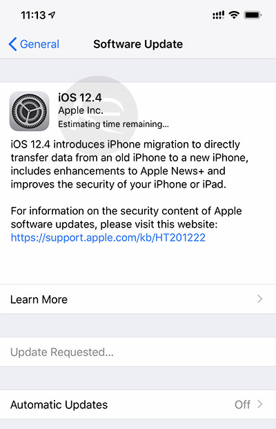 Download iOS 12 4 Final IPSW Links And OTA Update For Your