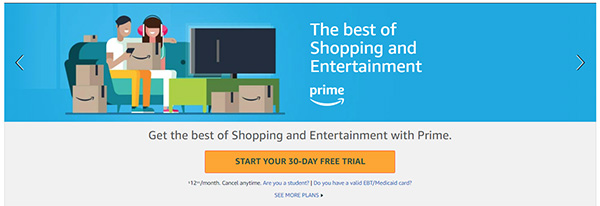 How To Sign Up For Amazon Prime For Free In Time For Prime