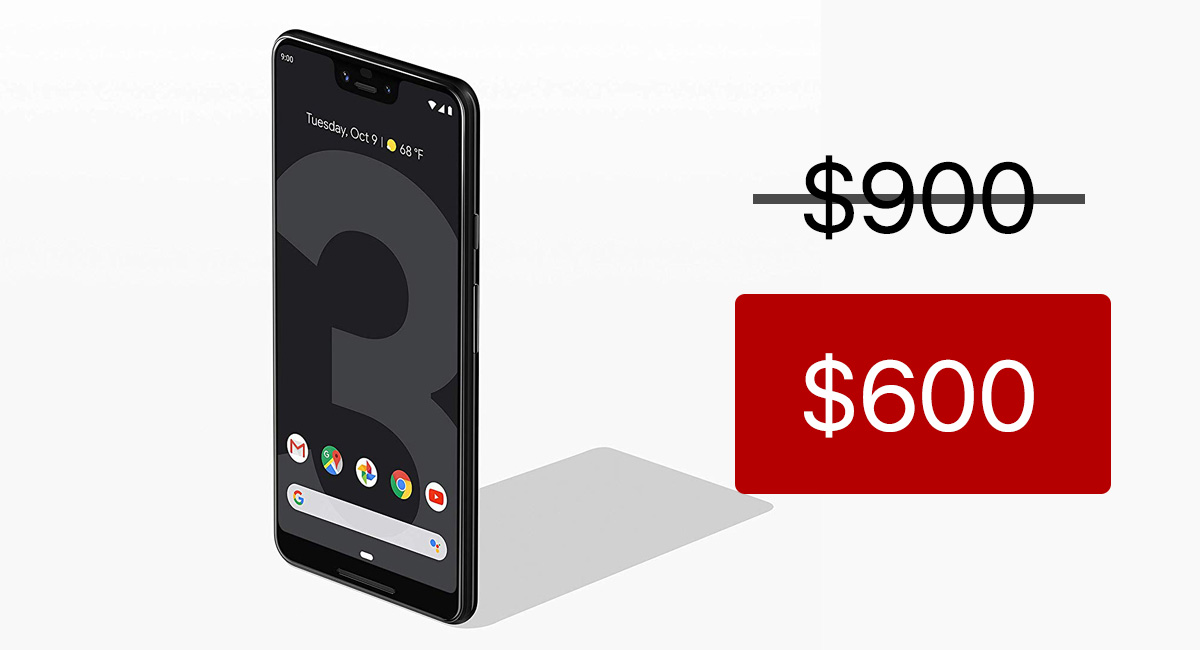 Save A Whopping $300 On Google Pixel 3, Pixel 3 XL With This Deal