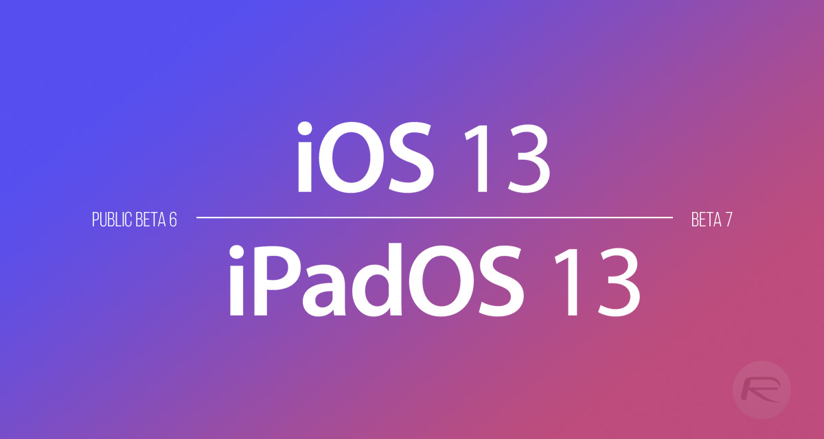 iOS 13 Beta 7 / Public Beta 6 Download Expected Release Date