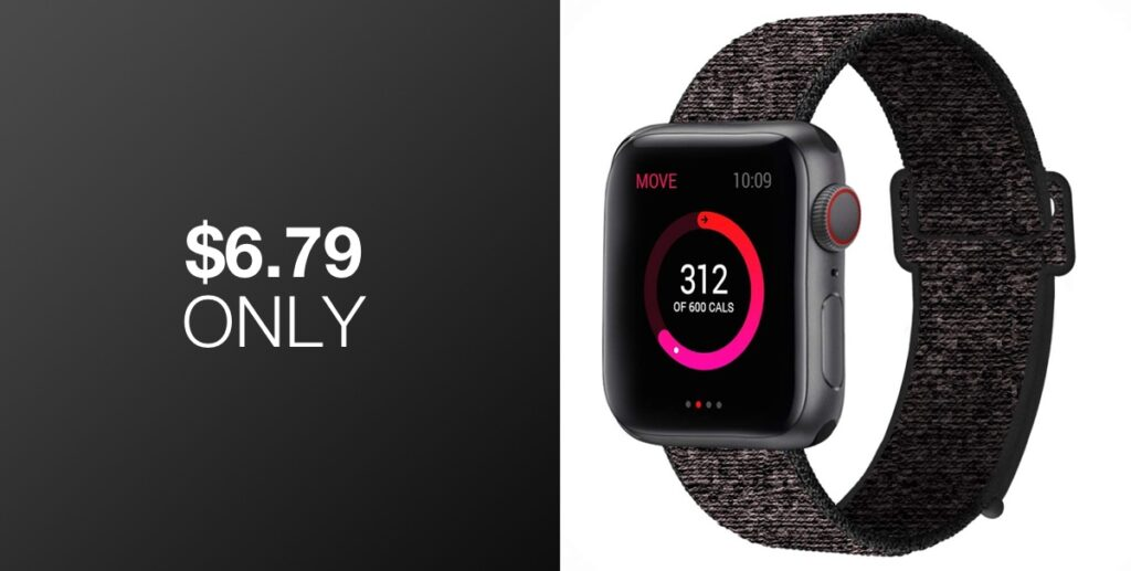 Deal Alert: Nylon Sport Band For Apple Watch For Just $6