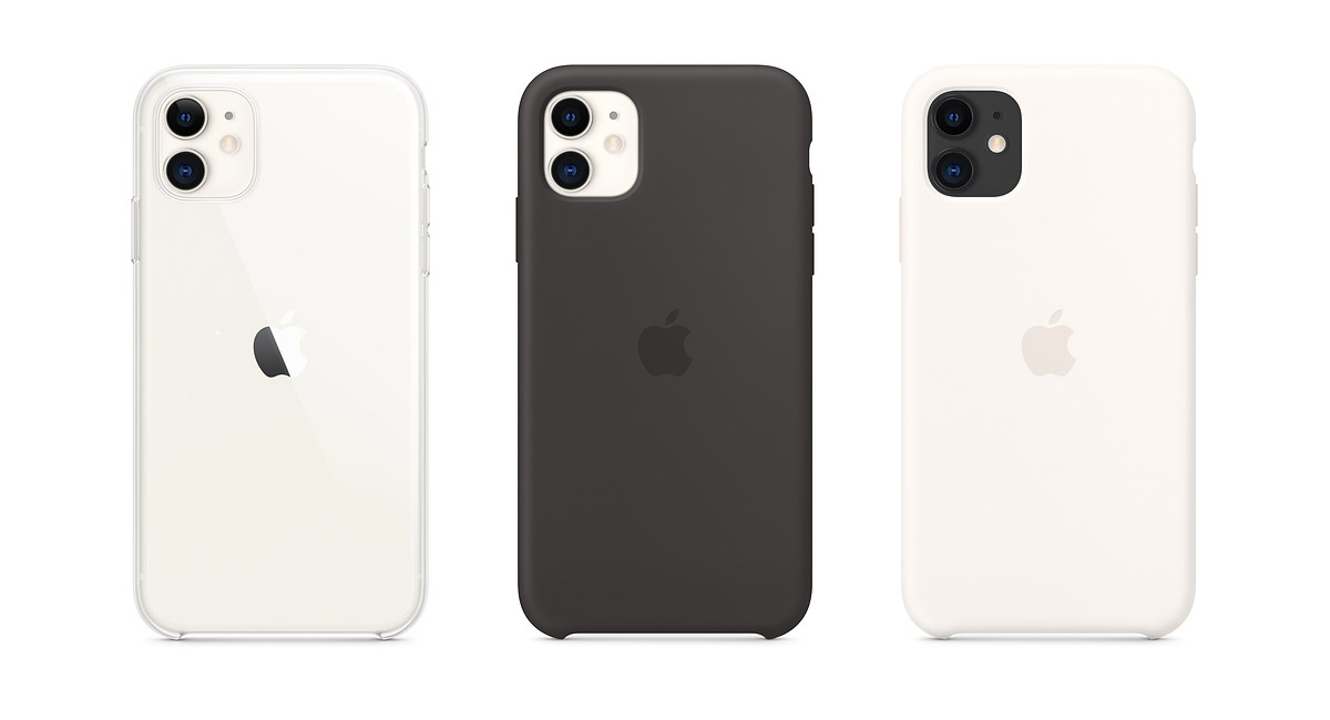 Apple Releases New Silicone, Leather, Clear Cases For iPhone