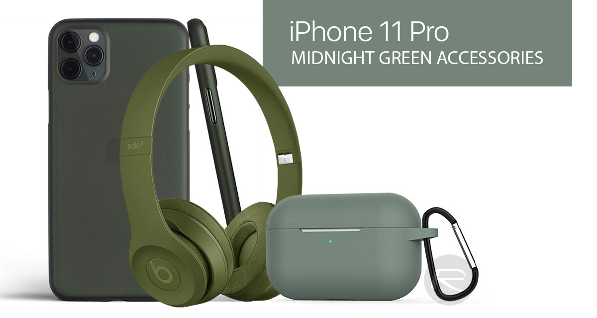 Midnight Green Iphone 11 Pro Max Case Lightning Cable Wireless Charger Band Speaker More Redmond Pie