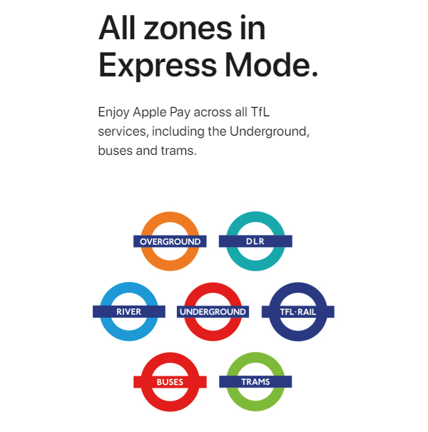 Apple Pay Express Mode Now Live In London | Redmond Pie