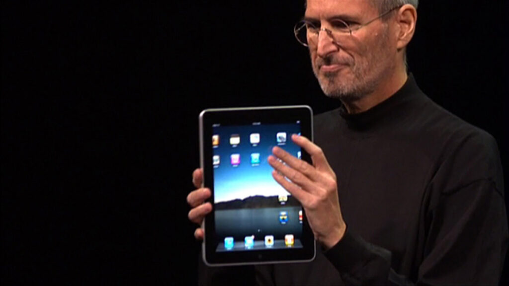 Steve Jobs Announced The iPad 10 Years Ago Today
