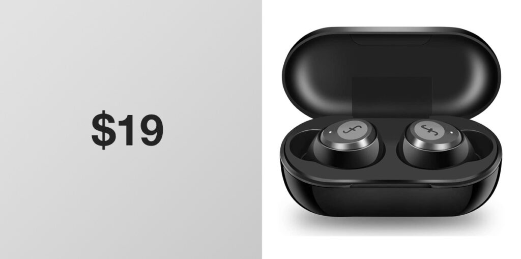 Pick Up Some True Wireless Bluetooth 5.0 Earbuds For Just $19, But Be Quick