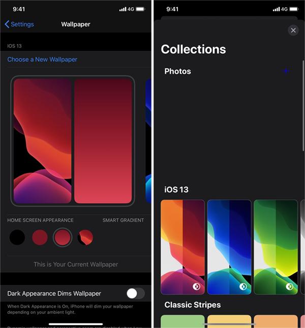 Ios 14 Wallpaper Settings Leaked Code Reveals Home Screen Widgets More Redmond Pie