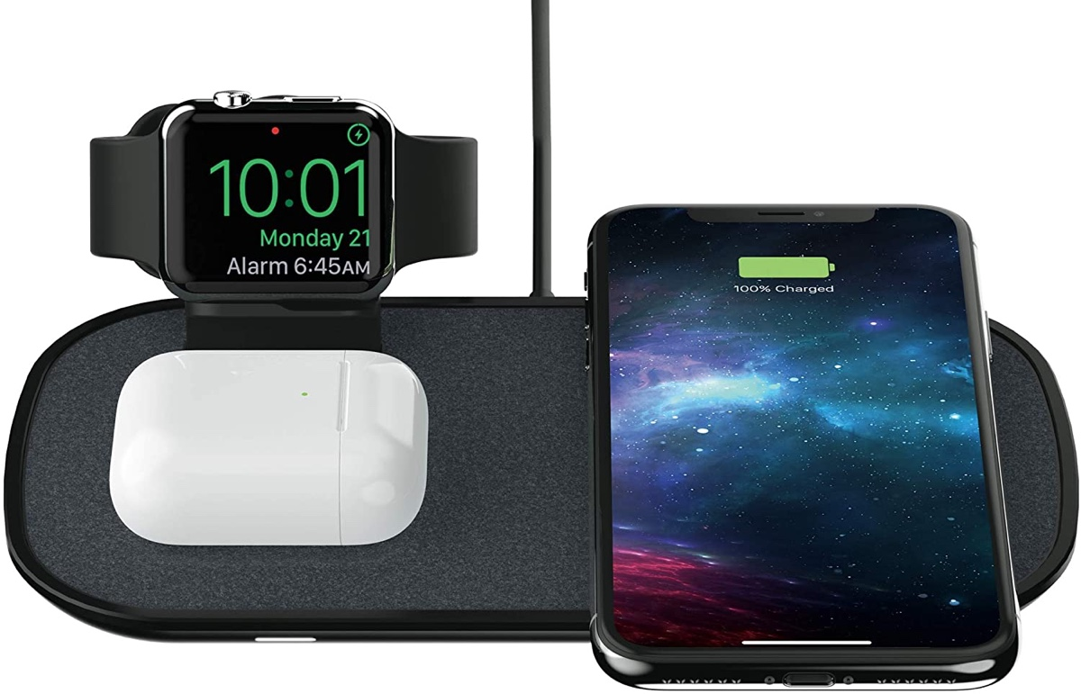 This 3 In 1 Wireless Charger Is Perfect For Iphone 12 Apple Watch And Airpods Pro Users Save 71 Right Now Redmond Pie 2021 new product is suitable for iphone12 official magnetic wireless charger apple 12magsafe charger magnetic wireless charger. iphone 12 apple watch and airpods pro